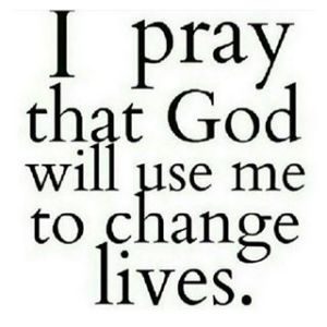 God Please Use Me