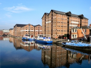 image of gloucester docks